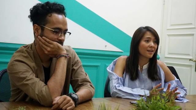 Media visit, promo film MoveOnAja, Lala Karmela dan Marthino Lio