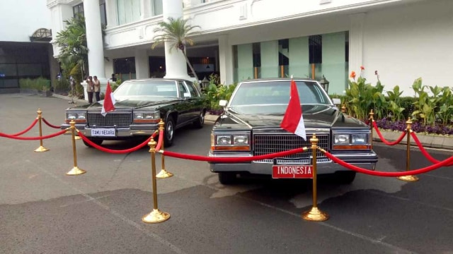 Mobil Presiden Soeharto dipamerkan Halaman di Istana Kepresidenan