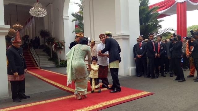 Upacara HUT ke-74 RI di Istana Merdeka, Jokowi