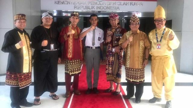 Koko Ardiansyah, Asrorun Niam, Istana Merdeka, Jakarta