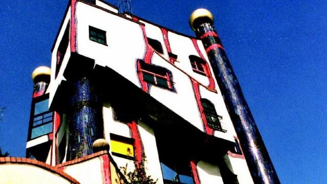 Arsitektur Kaya Warna dari Hundertwasser (147659)