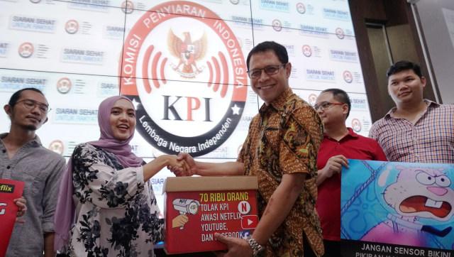 LIPUTAN KHUSUS, Komisi Penyiaran Indonesia, Aksi di KPI