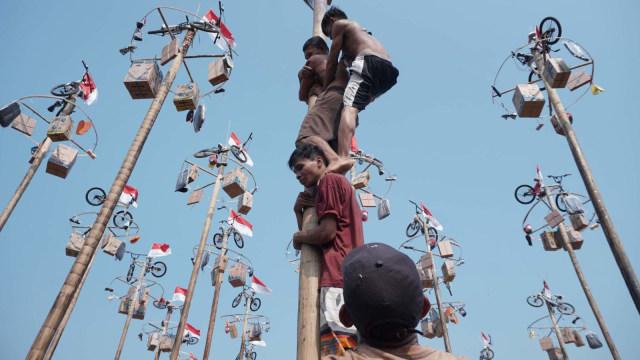 Panjat Pinang Sudah Ada Sejak Zaman Belanda, Lalu Apa Masalahnya?  (393375)