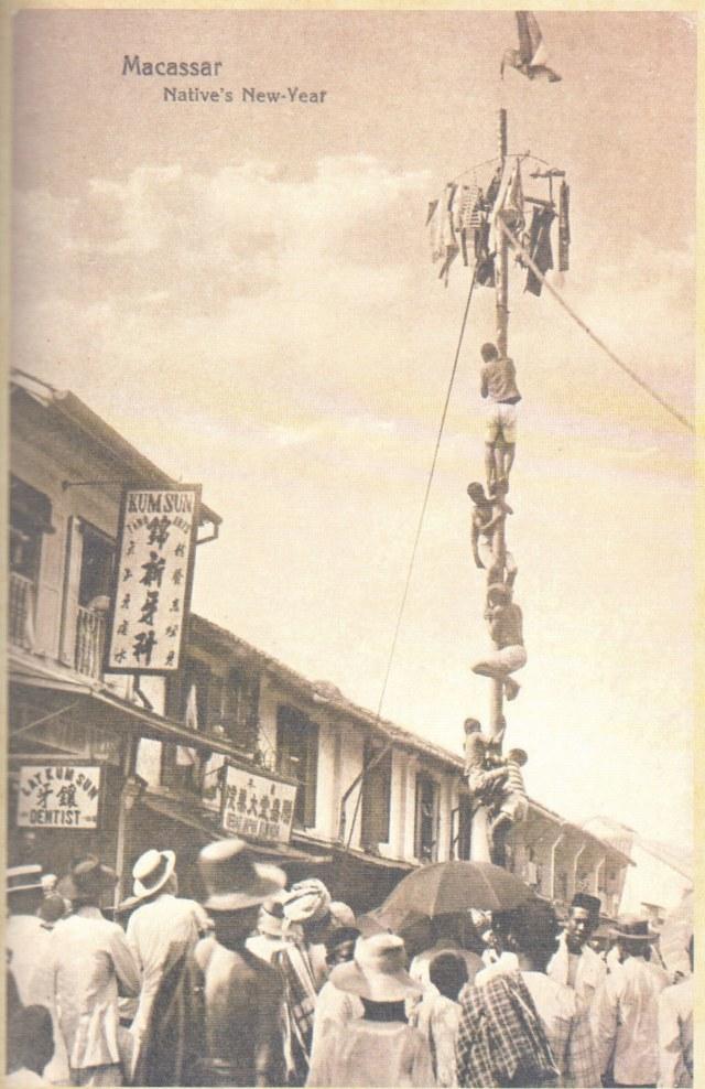 Panjat Pinang Sudah Ada Sejak Zaman Belanda, Lalu Apa Masalahnya?  (393376)