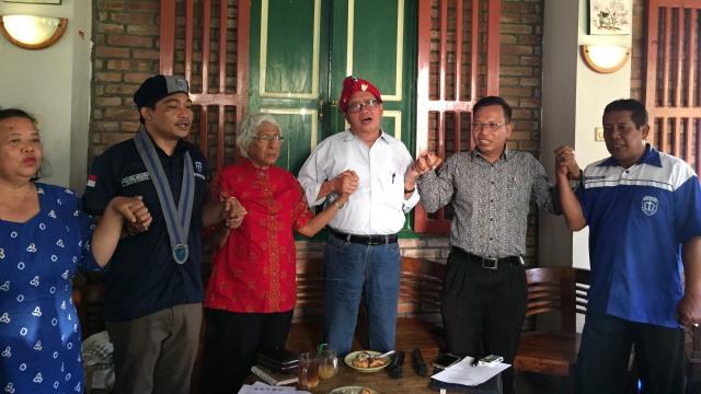 Lembaga keumatan Kristen di Yogyakarta menyerukan kepada umat Kristen di Yogyakarta untuk tidak takut untuk melawan gerakan radikal dan diskriminatif