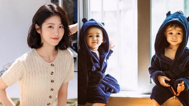 Momen Menggemaskan Shin Ye Eun saat Bertemu William dan Bentley (93067)