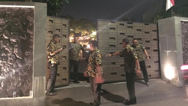 Suasana Taman Kajoe, Ampera, Jakarta Selatan, Senin (19/8)