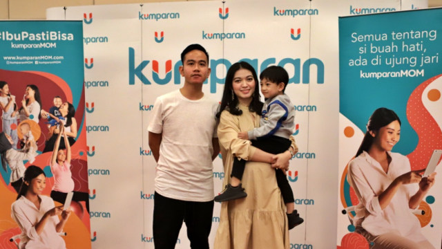 Jan Ethes, Gibran Rakabuming Raka dan Selvi Ananda di Moms Mingle.