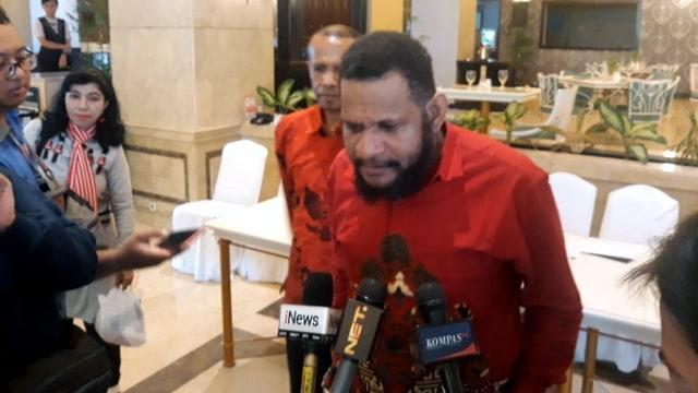 Ketua Umum Gerakan Cinta Indonesia, Hendrik Udam