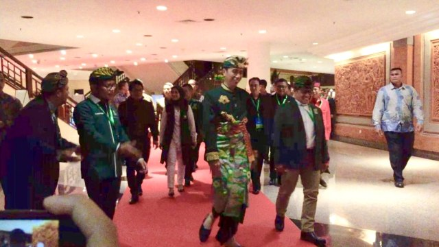 Tiba di Muktamar PKB, Jokowi dan Megawati Diteriaki 'Papua Damai' (713874)