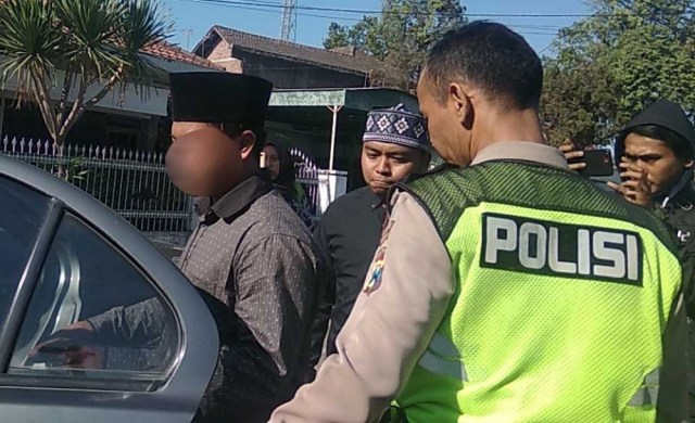 Terduga pelaku penganiayaan santri di Mojokerto