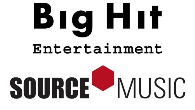 Big Hit Entertainment dan Source Music