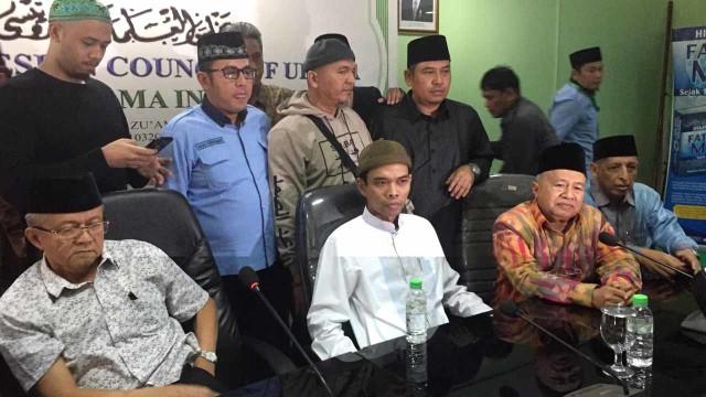 Ustaz Abdul Somad jelaskan terkait video viral ceramah tentang salib di MUI