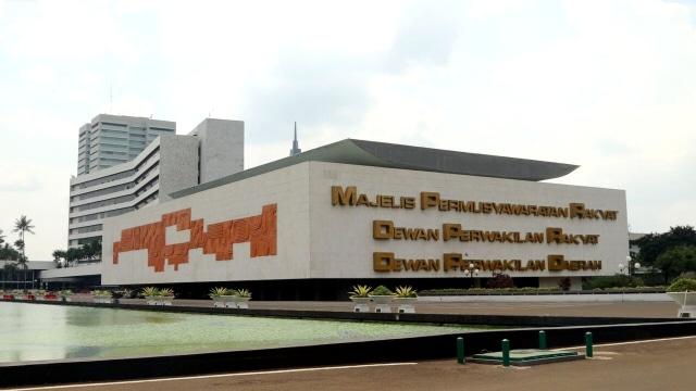 LIPUTAN KHUSUS, GBHN, Garis-garis Besar Haluan Negara, Gedung DPR/MPR RI