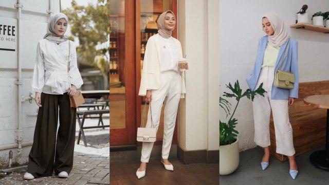 Tips Fashion 5 Inspirasi Busana Wawancara Kerja Untuk Pengguna Hijab Kumparan Com