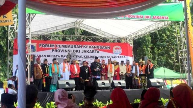 Anies Buka Festival Kuliner Nusantara Singgung Persatuan