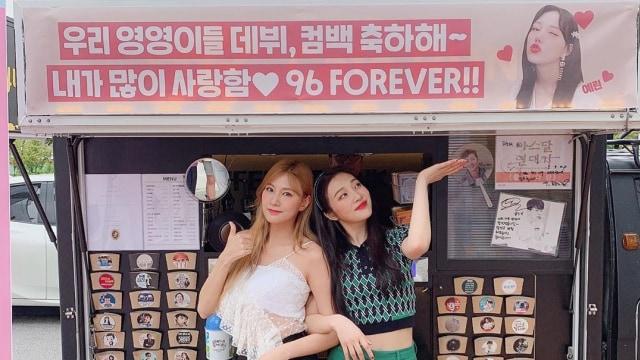 Joy Red Velvet dan Hayoung Apink