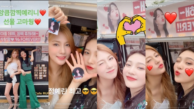 Kolase Instagram Story Joy Red Velvet