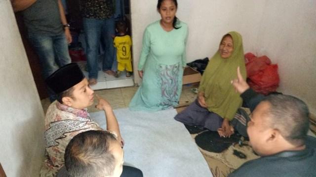 Wali Kota Tangerang, Arief Wismansyah menemui keluarga, meninggal karena tenggelam