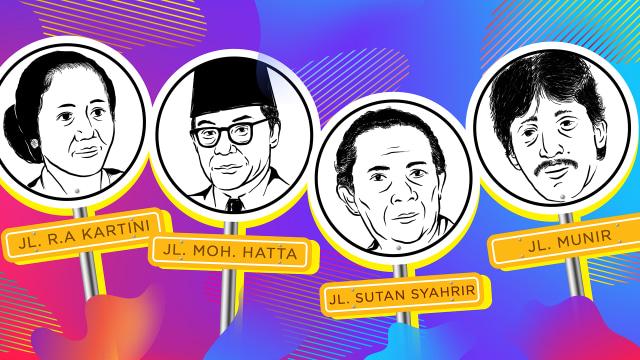 4 Pahlawan Indonesia yang Diabadikan Jadi Nama Jalan di Belanda