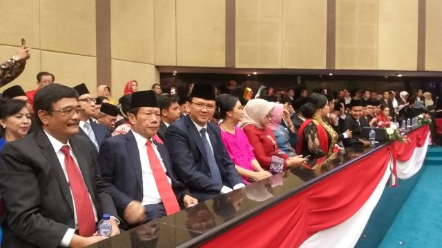 Sutiyoso dan Djarot Juga Hadiri Pelantikan Anggota DPRD DKI 2019-2024 (17003)