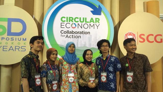 Cerita Mahasiswa RI Ubah Limbah Tekstil Soreang di SCG ASEAN Camp (16032)
