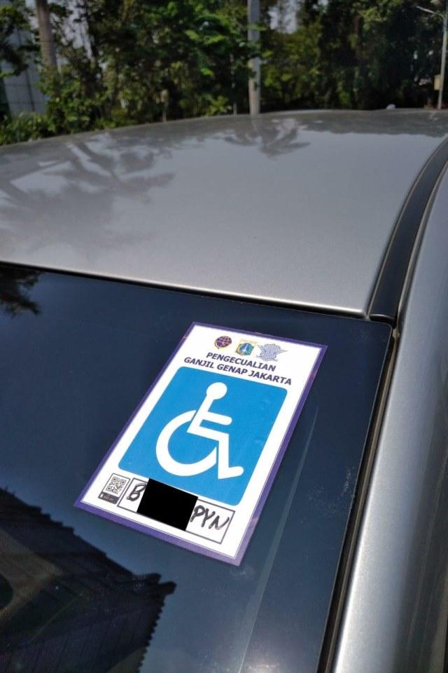 otomotif, ganjil genap, jakarta, disabilitas