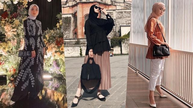 Baru Berhijab, Begini Tampilan Fashion Citra Kirana (76123)