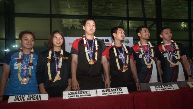 PBSI Padukan Atlet Senior dan Junior di SEA Games 2019 (437398)