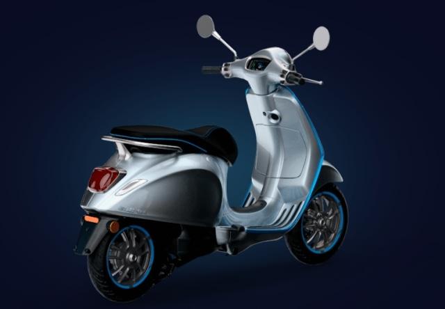 Otomotif, Vespa, Vespa Elettrica, skuter listrik