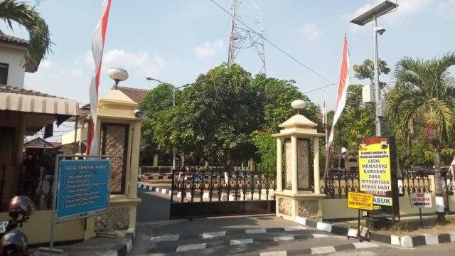 LIPSUS KPK TANGKAP JAKSA, Polresta Kota Surakarta
