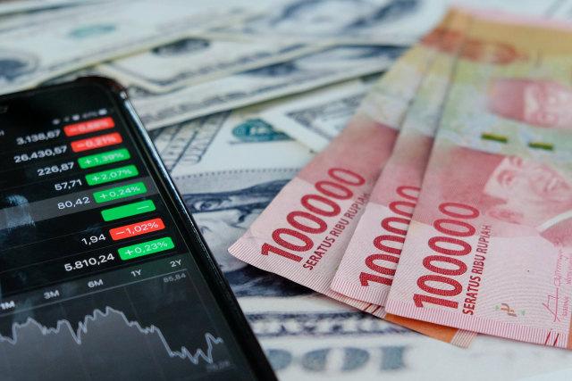 Ilustrasi investasi di pasar saham