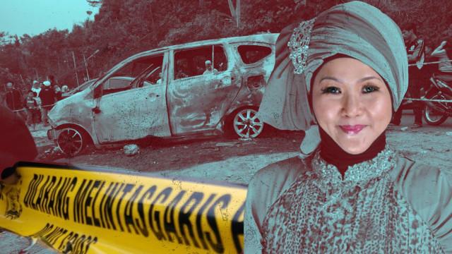 Aulia Kesuma, Pembunuh Suami dan Anak Tiri di Sukabumi