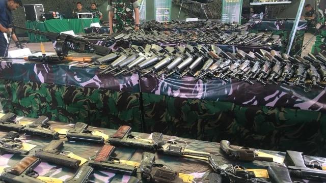 Berkunjung ke Aceh, KSAD Lihat 118 Senjata Sisa Konflik Aceh (157067)