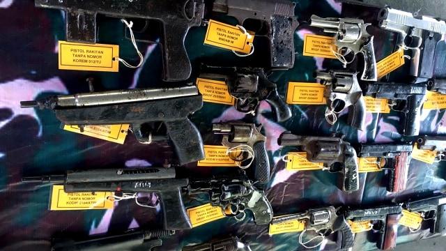 Berkunjung ke Aceh, KSAD Lihat 118 Senjata Sisa Konflik Aceh (157068)