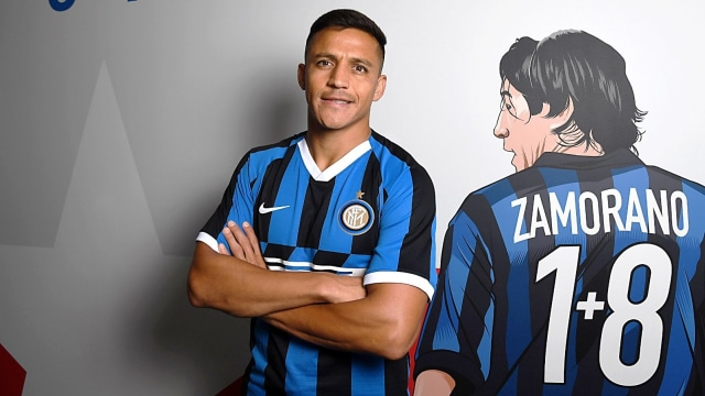 Inter dan Serie A: Aparatus Penebusan Sempurna Alexis Sanchez (22637)