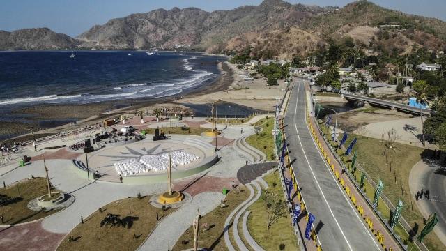 Peresmian Jembatan BJ Habibie di Timor Leste