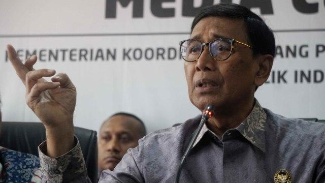 Wiranto: Benny Wenda Bagian dari Konspirasi Rusuh di Papua (151330)