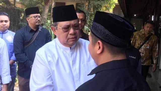 Presiden keenam RI Susilo Bambang Yudhoyono, SBY, Siti Habibah wafat