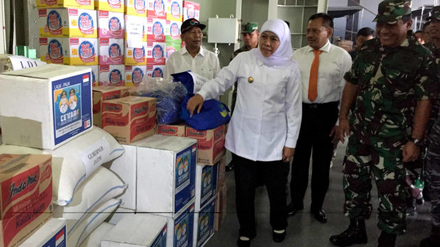 Pemprov Jatim Kirim Bantuan Logistik ke Jayapura (465570)