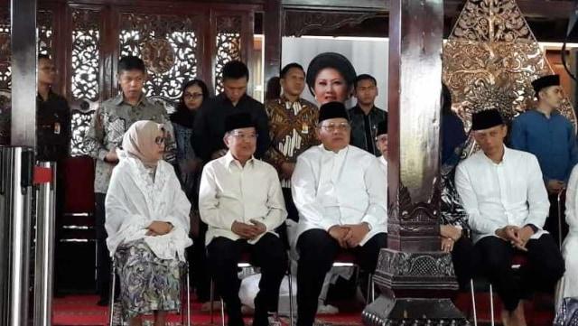 Wakil Presiden Jusuf Kalla, SBY, Siti Habibah wafat