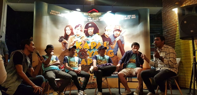 Kapal Goyang Kapten : Film Komedi Bajak Kapal di Laut  Maluku Tenggara (78615)