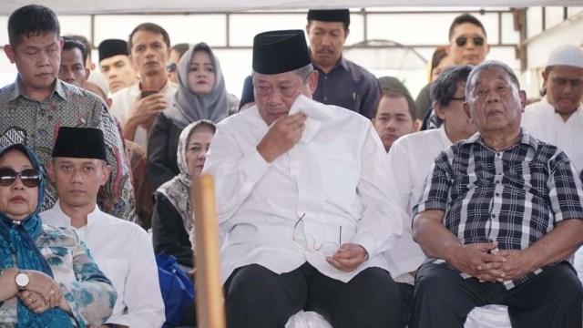 TPU Tanah Kusir, Susilo Bambang Yudhoyono, Pemakaman Siti Habibah