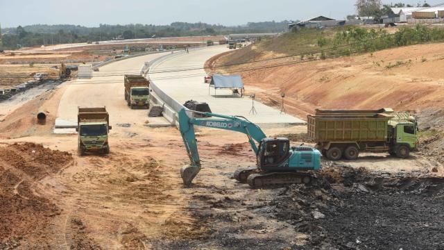 LIPSUS Halo Ibu Kota Baru, Jalan tol Balikpapan-Samarinda