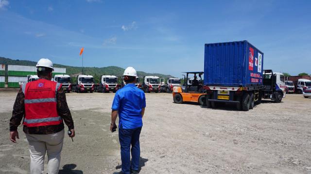 Groundbreaking pembangunan Pusat Logistik Berikat (PLB), Aceh Besar