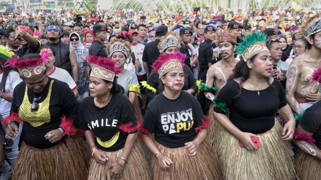 Konser Budaya Masyarakat Papua, Bundaran HI, Jakarta