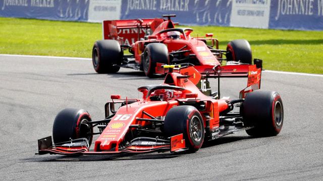 Misi Duo Ferrari Putus Tren Negatif di GP Italia (167895)