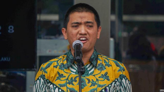 Ketua Wadah Pegawai KPK, Yudi Purnomo Harahap menyampaikan komentar terkait penyerahan 10 nama capim KPK oleh pansel.