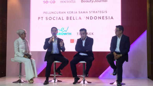 Hasil gambar untuk Social Bella Raih Pendanaan Seri D Sebesar USD 40 Juta yang Dipimpin EV Growth dan Temasek