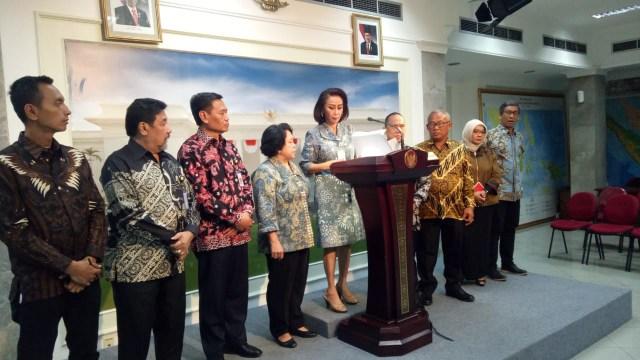 Pansel Capim KPK umumkan 10 nama ke Jokowi